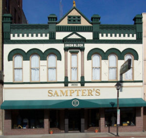 welcome to sampters union block